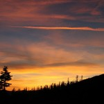 Mt Shasta Experience sunset