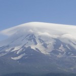 Cloud over Mt Shasta 2011