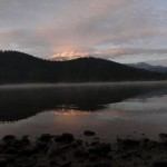 Sunset over Lake Siskiyou
