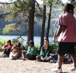 Castle lake Group Healing session