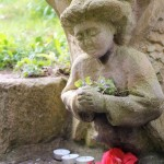 Chalice well Angel by Diane