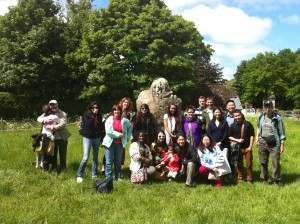 Avebury stones and group