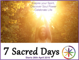 7 Sacred Days Launch